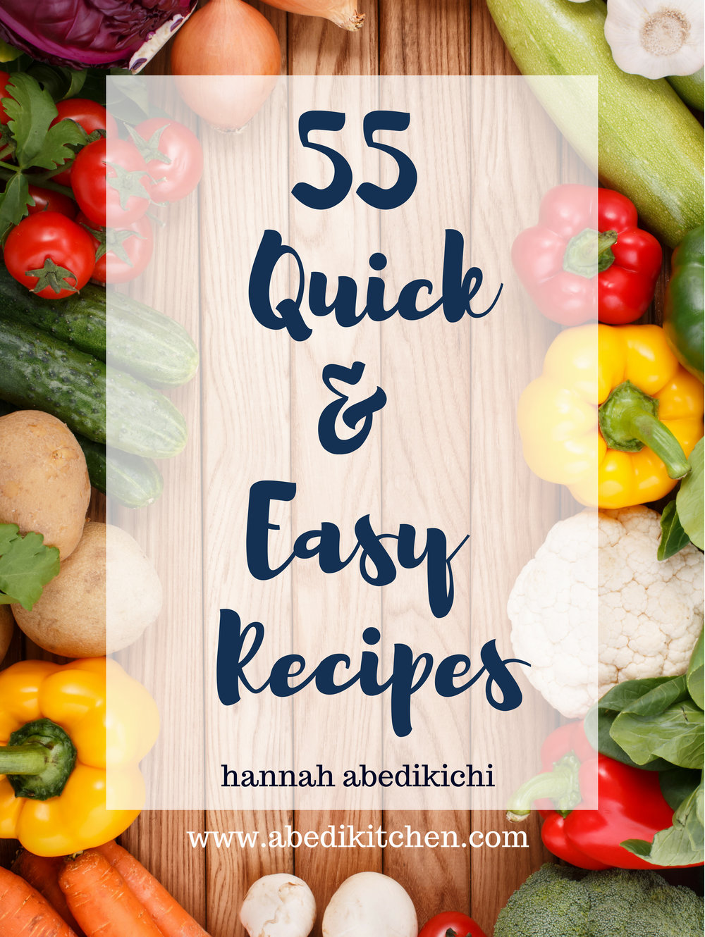 55 quick and easy recipes