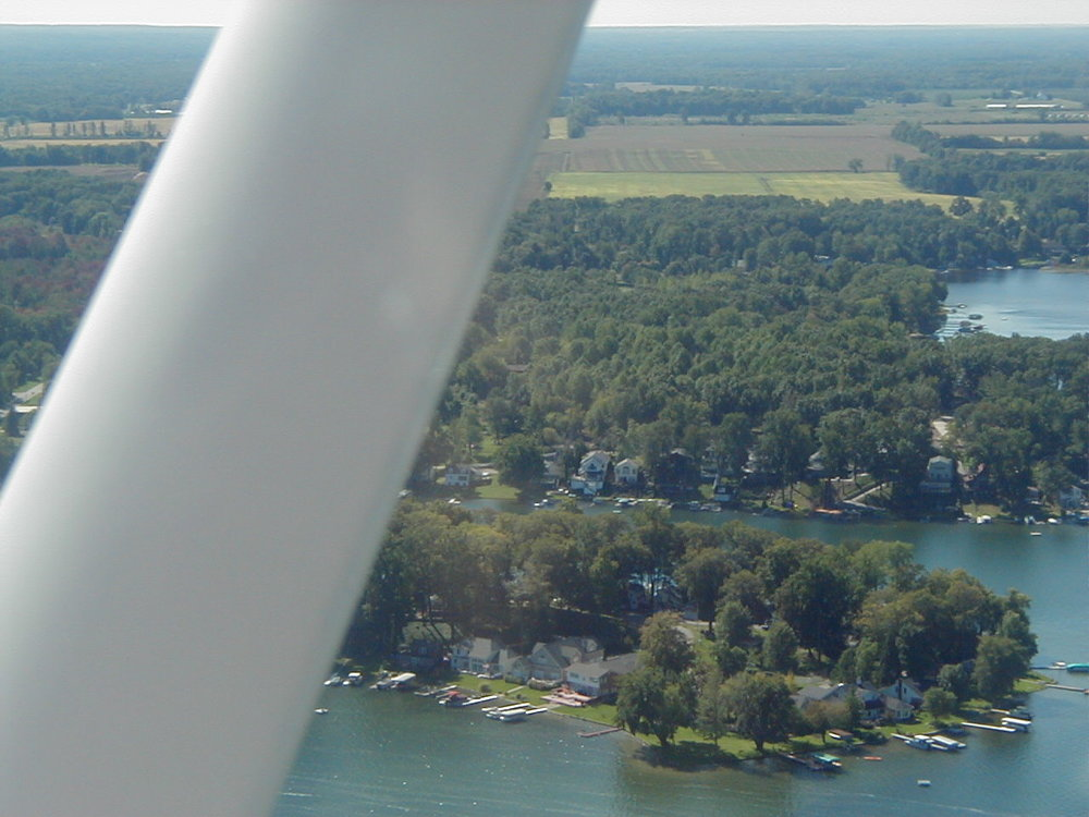 West side of Maple Island