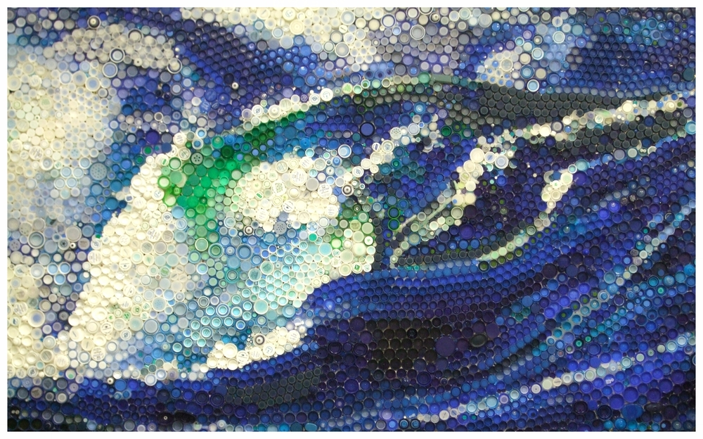 Tsunami, ©2014 (5'x8')