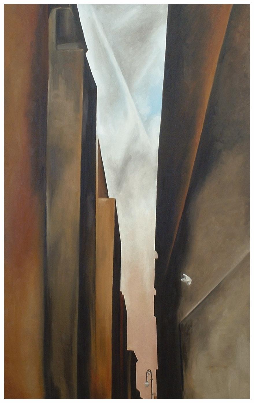 "O'Keeffe's Bag  48""x30"""
