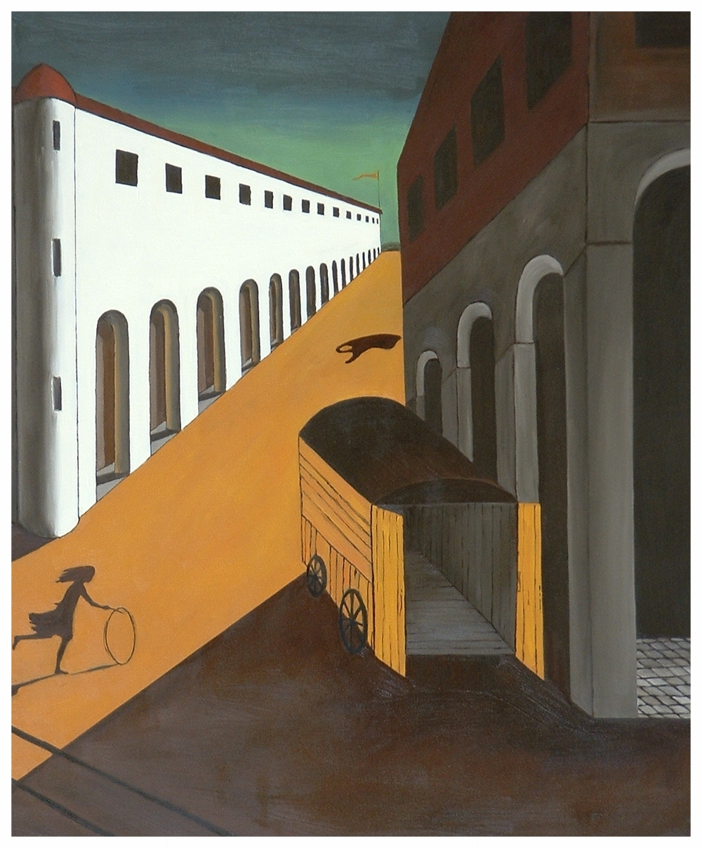 "deChirico's Bag  33""x27"""