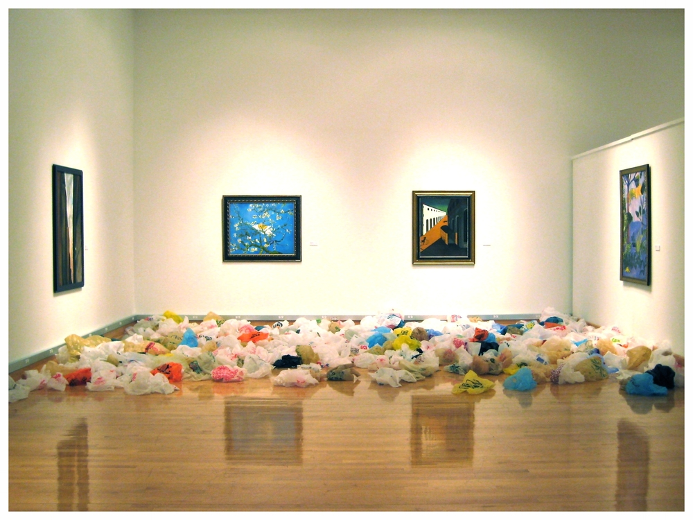 Installation view, Florida Gulf Coast University, 2009