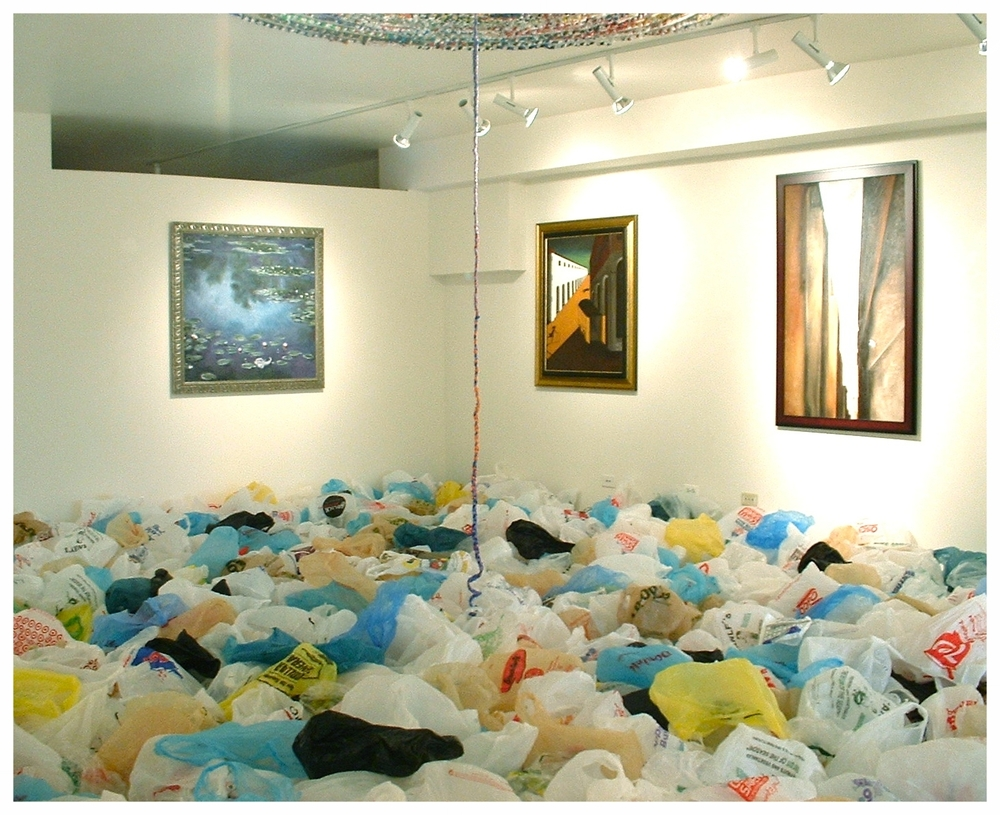 Installation view, WomanMade Gallery 2007