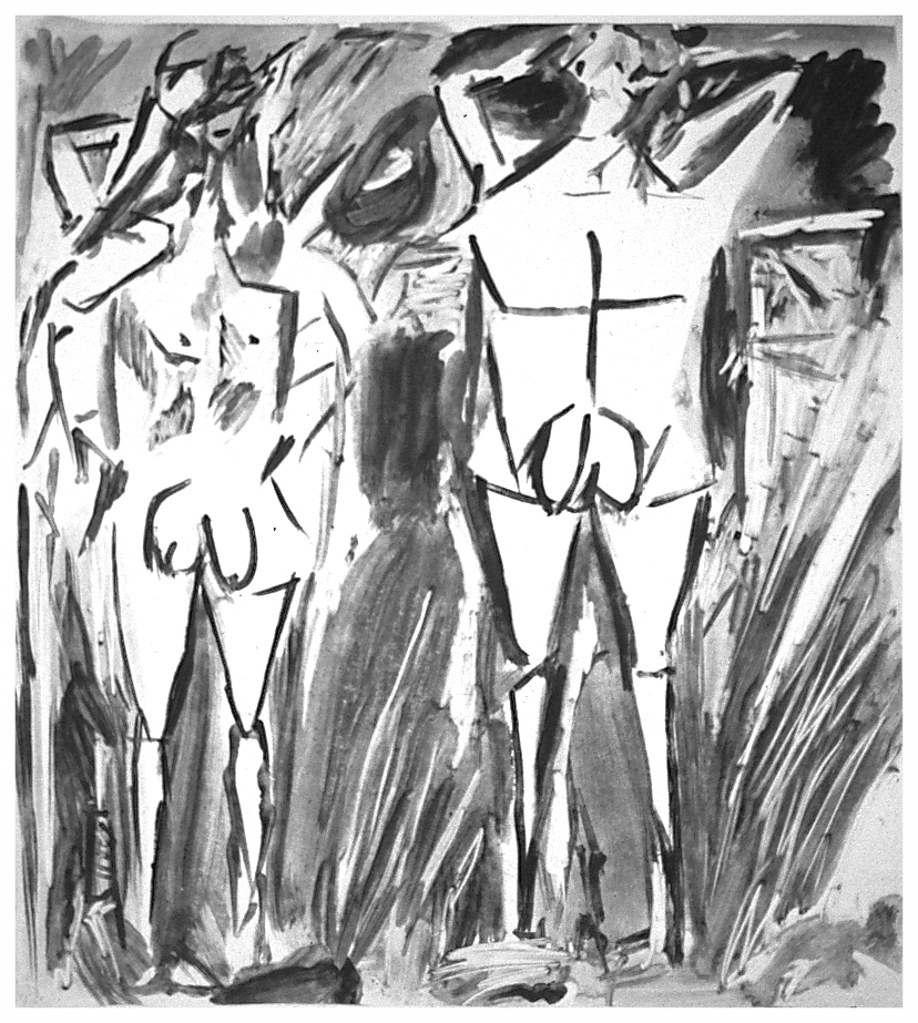 Les Messieurs (after Picasso)