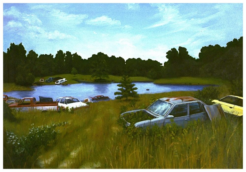 DeSoto, IL, 20x28 (sold)