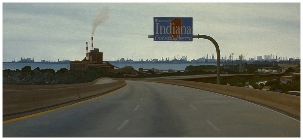 Crossroads of America, 22x48