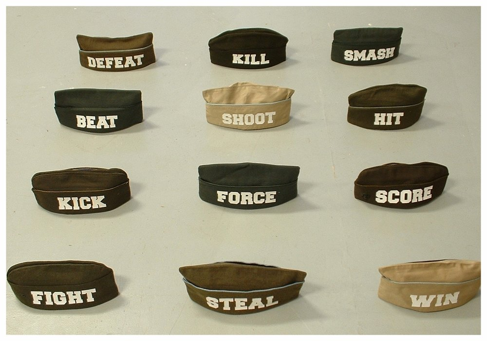 Parade Caps, left side (all sold)