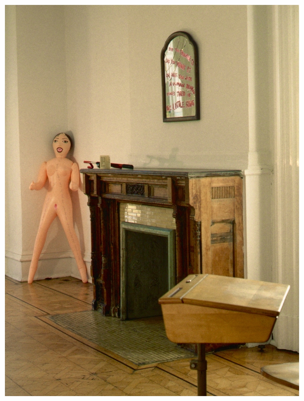 Installation view, WomanMade Gallery 1999