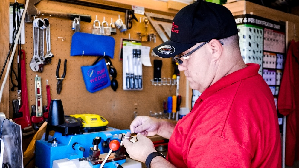 Bill offers all levels of locksmith services