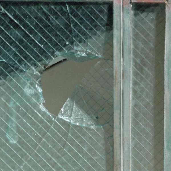 Windows should be tempered, burglar-resistant glass.
