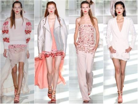 Antonio Berardi SS14   Source:http://freakdeluxe.co.uk/fashion-antonio-berardi-ss14-show/