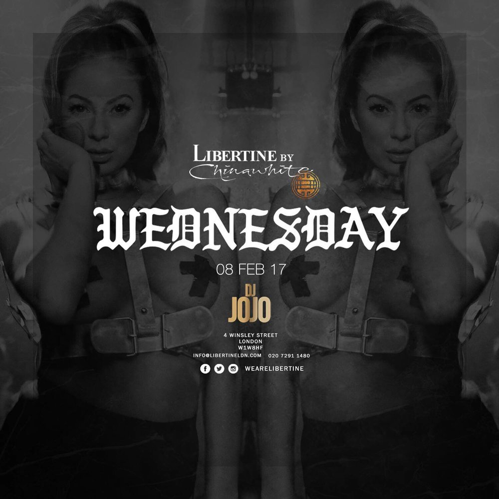 One thing certainly hasn't changed and that's the appeal of our mid-week special. Approaching our inevitable Wednesday venue: Libertine we are taking our celebrating the fact that the end of the week is near. With our first instalment arriving rather abruptly we can do nothing more than look forward to the night ahead.