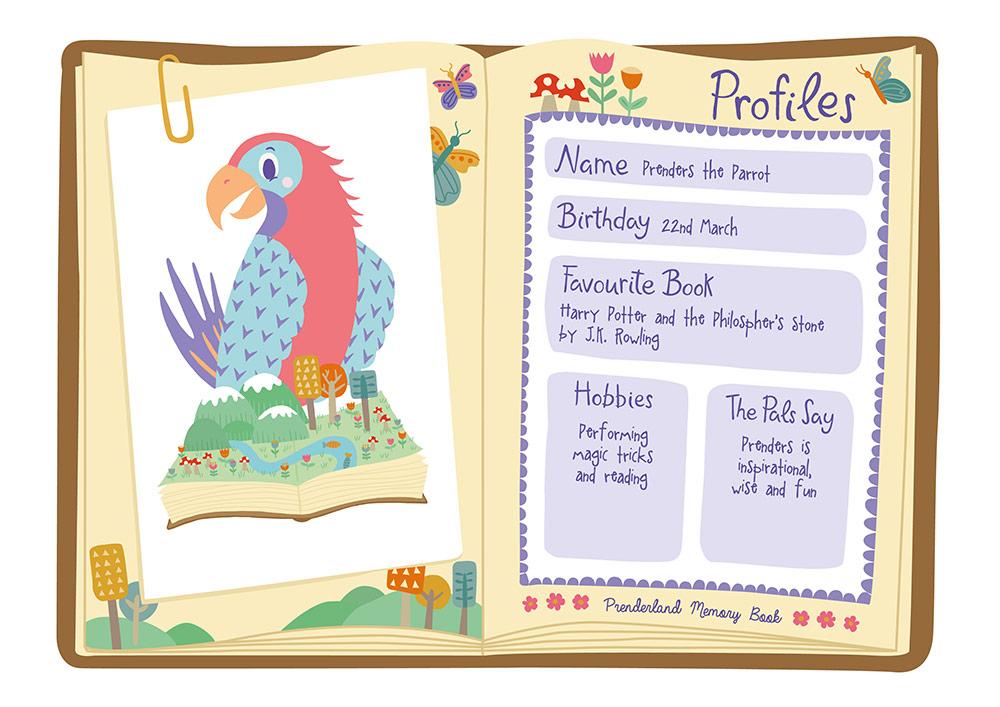 Prenders The Parrot