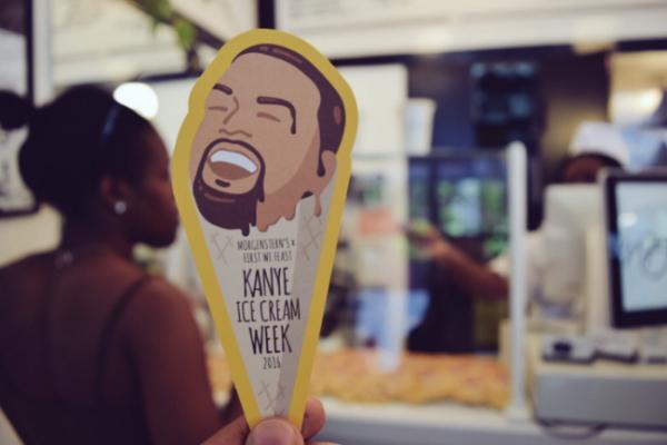 Kanye West Ice Cream Week