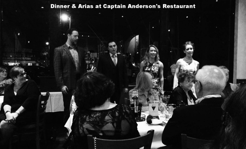 Pensacola Opera at Captain Andersons Restaurant