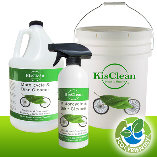 MOTORCYCLE & BIKE CLEANER