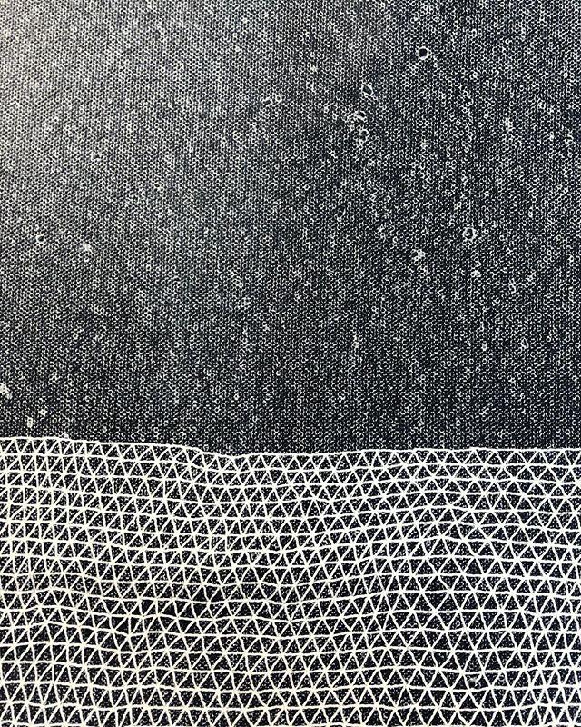 Laying track #tessellation #tessellate #triangle #art #brooklynart #artist #milkyway #firmament #stars #brooklynartist #nycart #nycartist #williamsburgartist #abstractart #abstractartpainting #abstractartist #lines #line #lineart #blackandwhiteart #mountains #terrain #diamond#instaart #instagood #artforsale #artforsalebyartist#inkwash#indiaink#ink