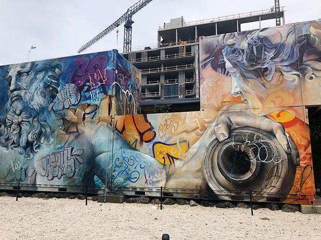 #pichiavo at #wynwoodwalls #miami #streetart #miamiart #wynwood #graffiti #graffitiart #zeus