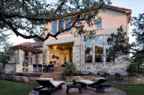 Photo Courtesy of Highland Homes - Austin, Texas