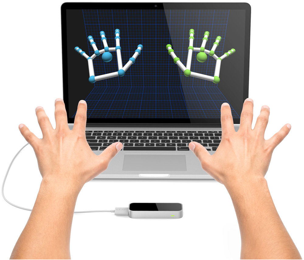 Leap motion can map your fingers in virtual reality