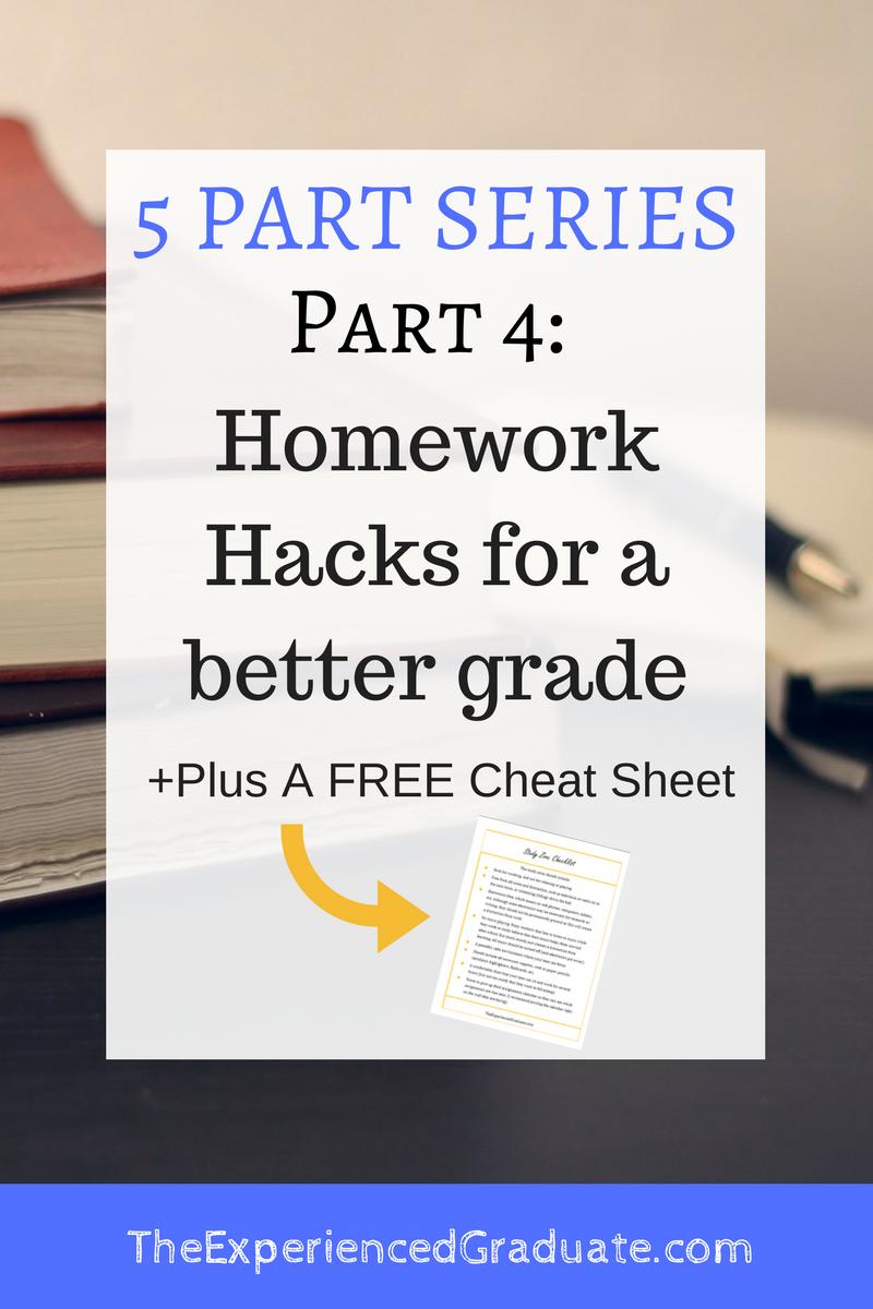 Homework Hacks