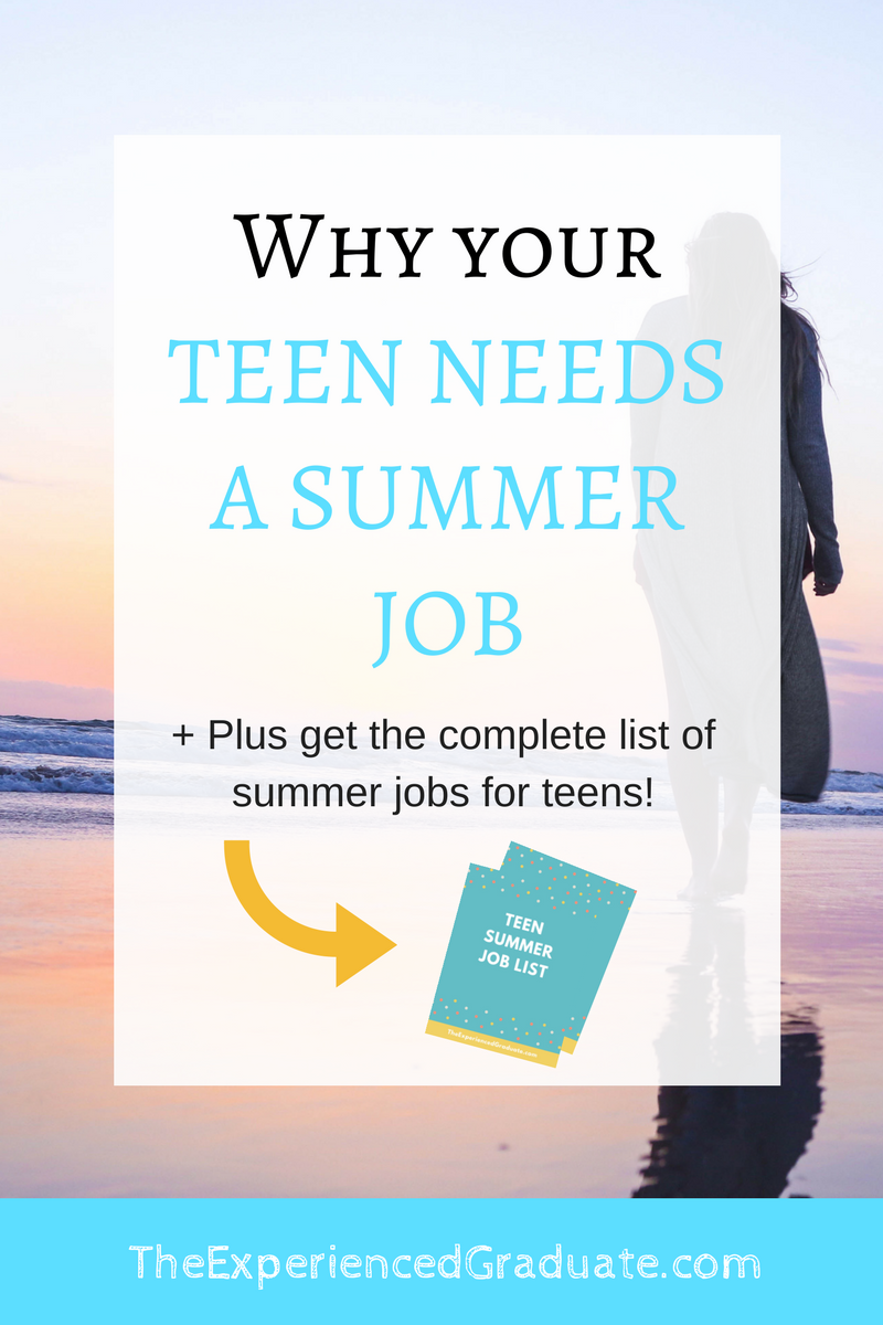Teen needs a job