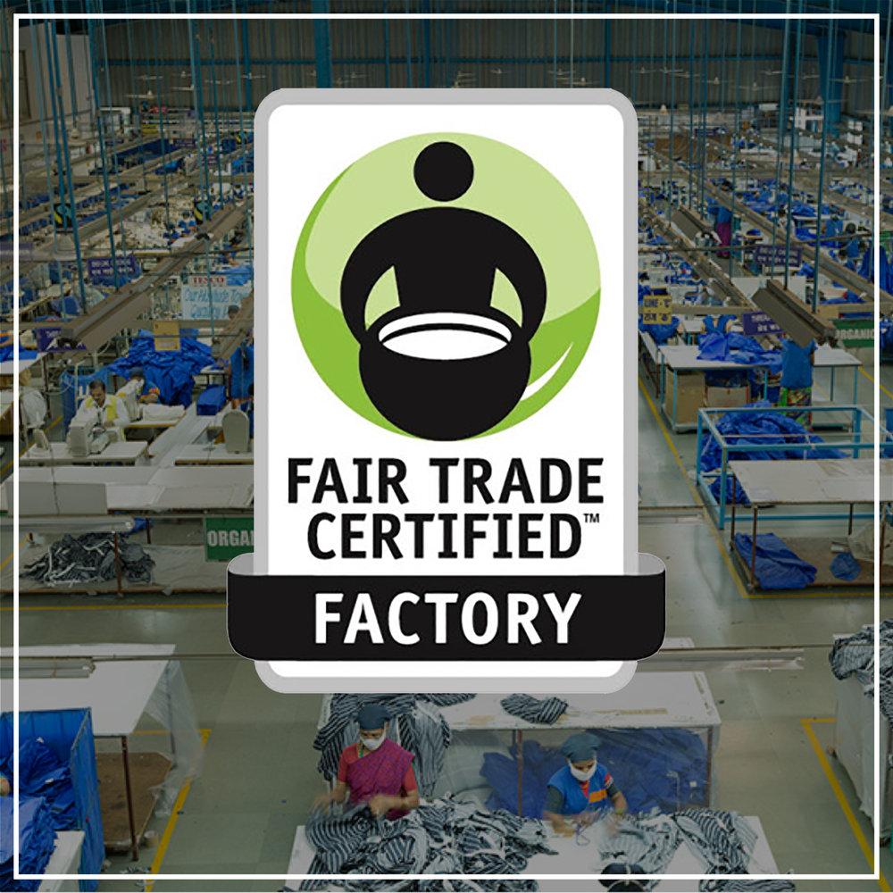Fair Trade Certified Factory