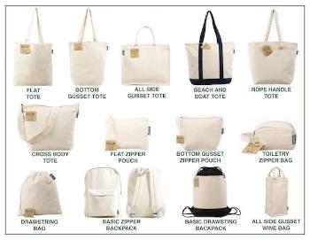 Fair Trade Custom tote Bags