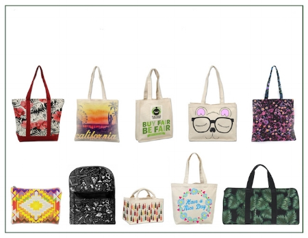 Customized organic cotton Promotional Bags