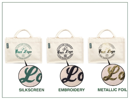 Customized organic cotton canvas Bags