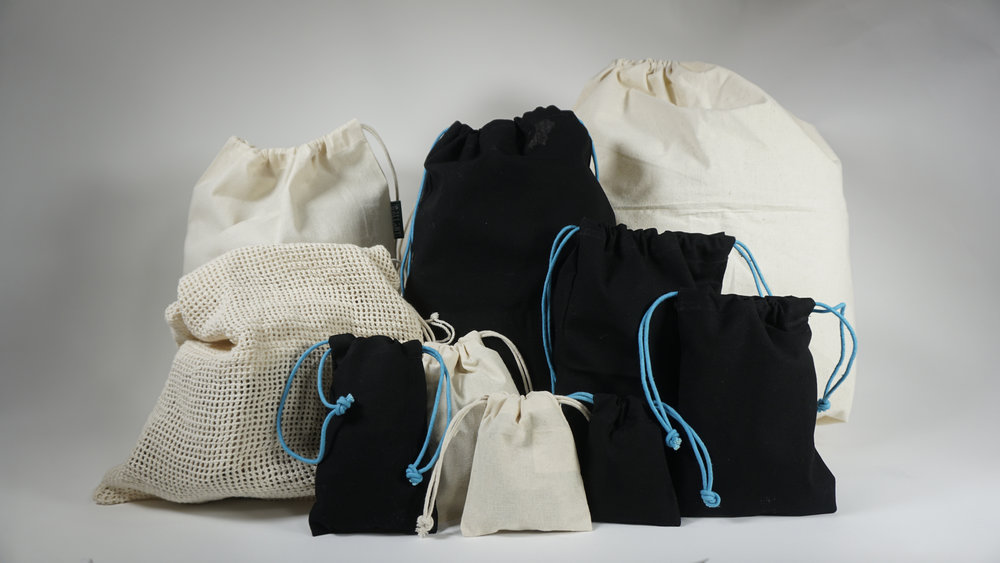 Brand our Fairtrade muslin bags any way you would like!