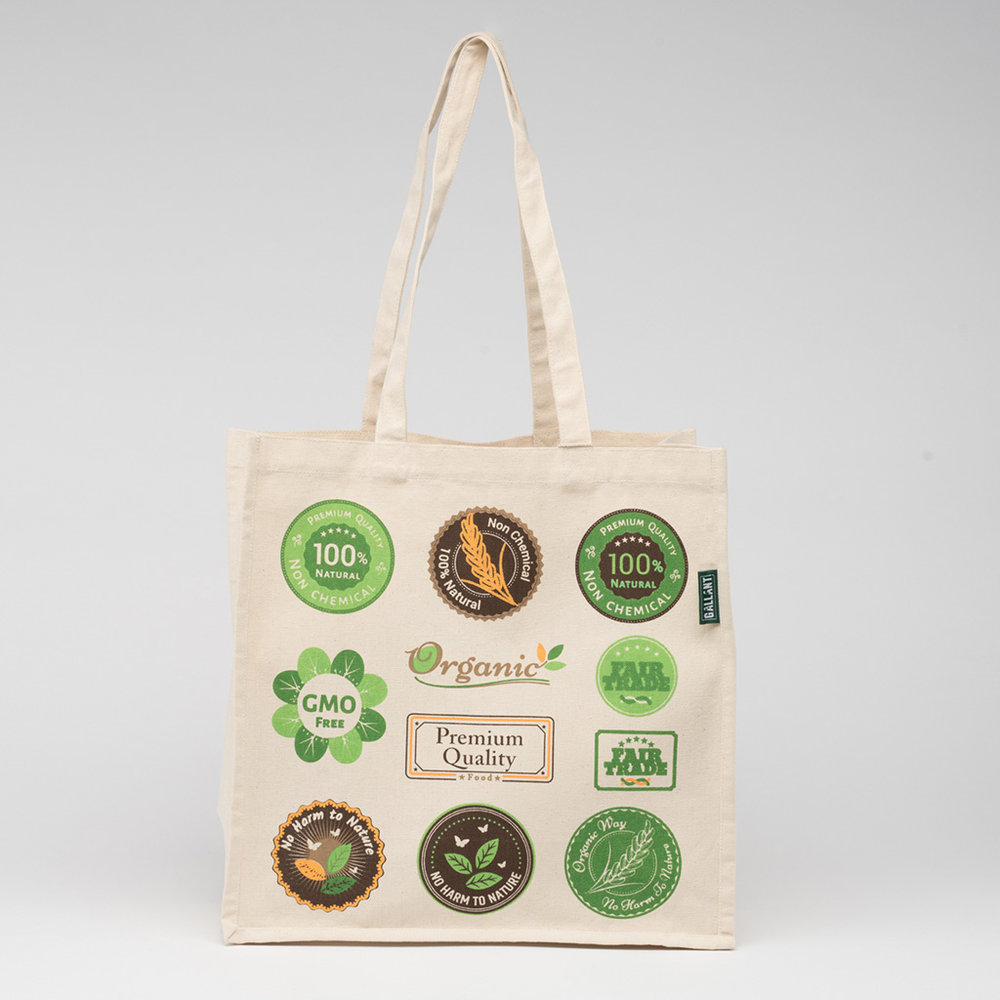 In addition to printing we also offer custom hang tag and woven label to add to your products!