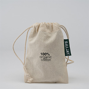 4 x 6 muslin bag. Brand it with your logo/artwork.