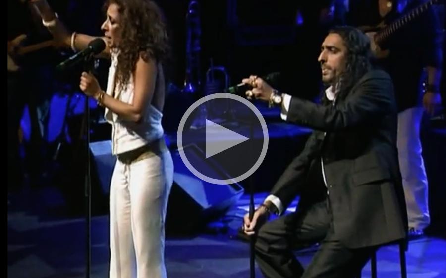"""""""Te quiero, te quiero"""" con Rosario Flores, 2012."""
