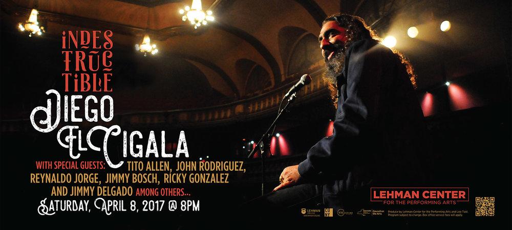 Poster promocional del concierto