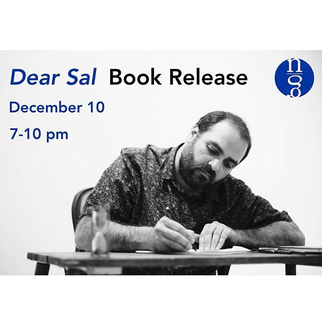 We are excited to invite you to the release of DEAR SAL, the second full length collection of poetry by member Jeremy Radin, on December 10, from 7-10pm. . At The Lodge Room in Highland Park: 104 N. Ave. 56, Los Angeles, CA 90042. This event is FREE and no RSVP is required. . Join us for cocktails and performances by @mandykahn @jettkwongkelly @jessicaabughattas and @chelseabayouth