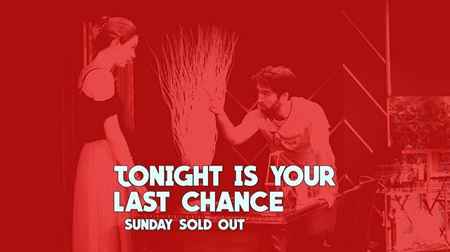 Last Saturday #imposterplay tonight! Just a handful of tickets left and tomorrow is sold out. See you there!