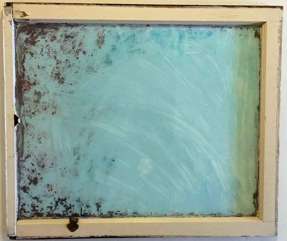 Compulsive Repression - Acrylic on glass - SOLD
