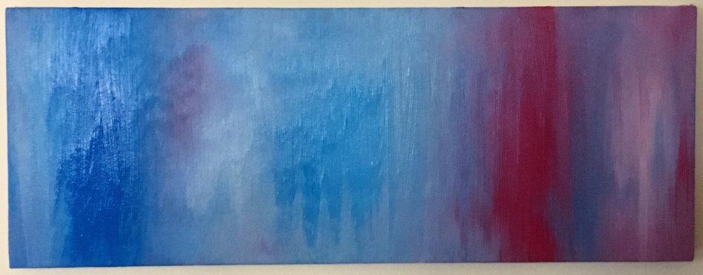 Scale - Acrylic on canvas - $200