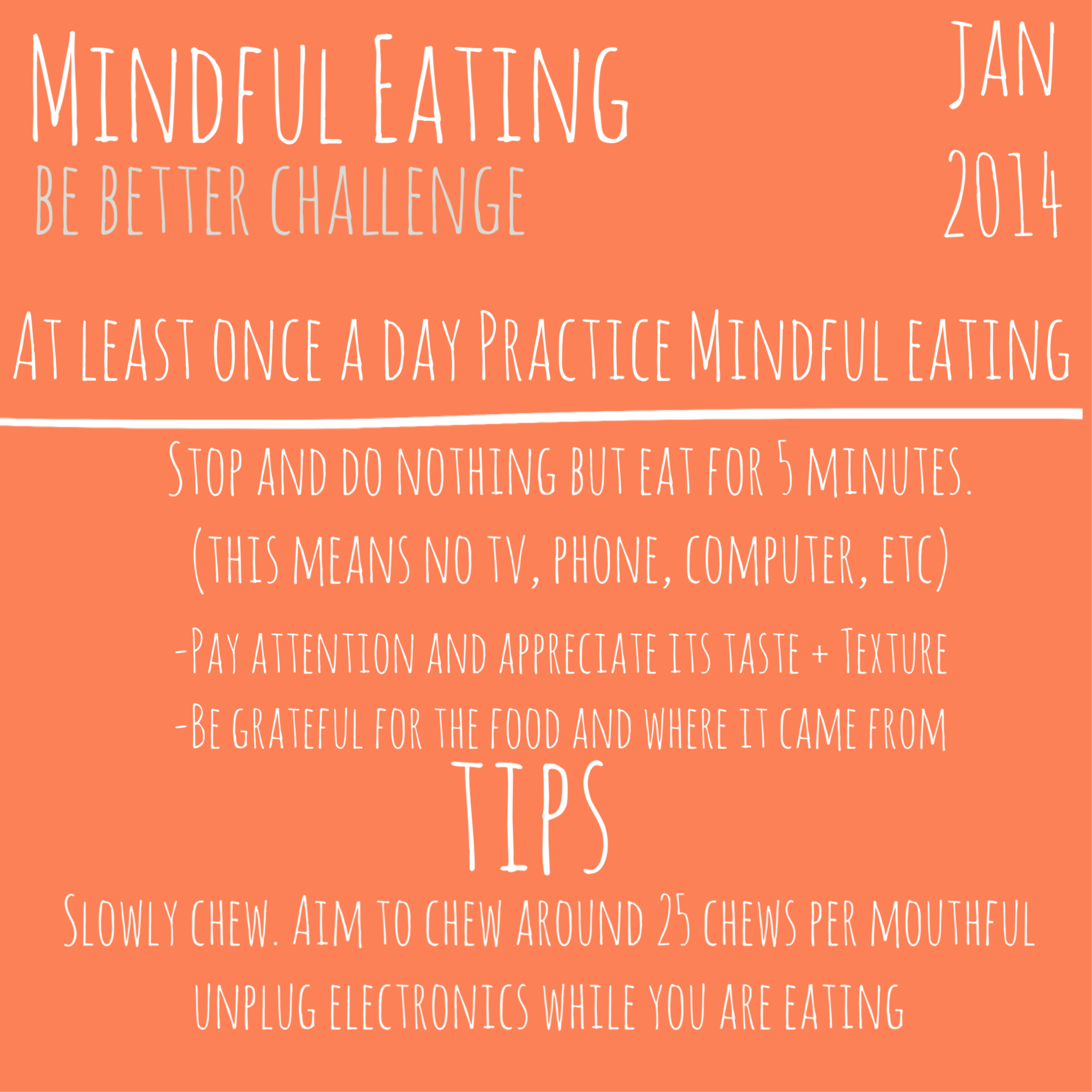 Mindful Eating-Be BETTER
