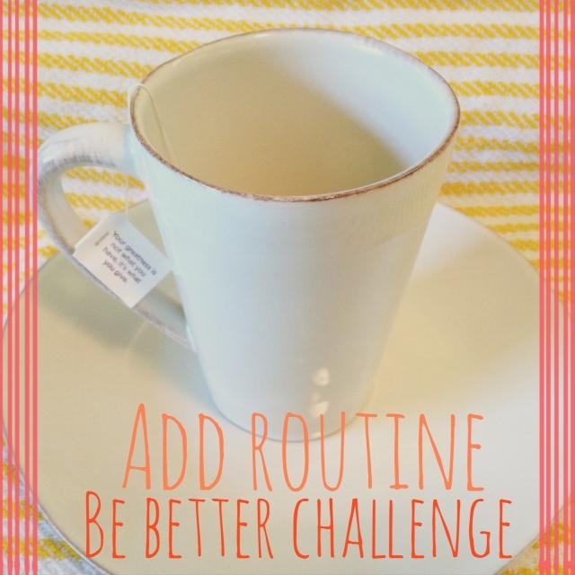 Add Routine