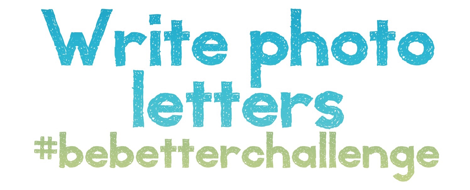 write photo letters