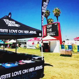 TWLOHA is on the road again with Vans Warped Tour!