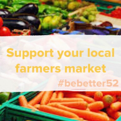 Support farmers markets