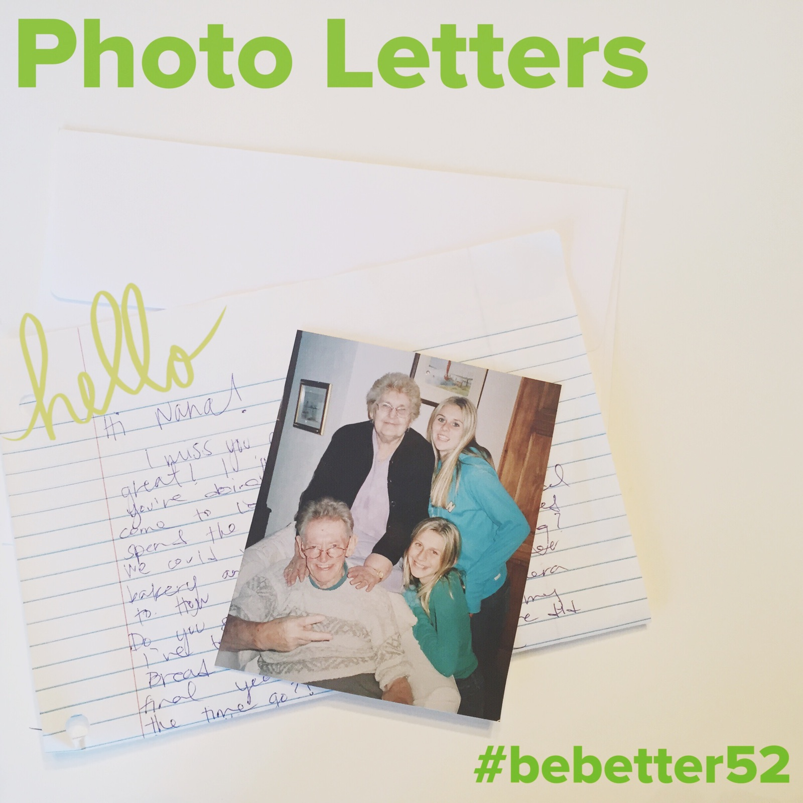 photo letters!