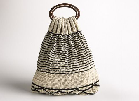 Jipijapa (palm leaf fiber) Bag by Kate Spade designer, Paulina Reyes