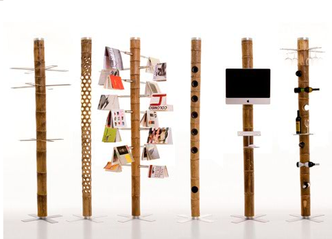Bamboo Furniture Structures by Ezri Tazrahi