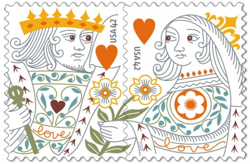 king-queen-stamps