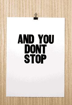 andyoudontstop-paperfinger