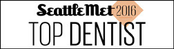 Charles R. Young, DDS was awarded the Seattle Met top dentist 2016.